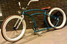 Bike Custom Beach Cruiser, Beach Cruiser Bikes, Beach Cruisers, Cruiser Bicycle, Lowrider Bicycle, Mini Bike, Super Bikes, Vintage Bikes, Kustom