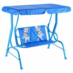 Outdoor Kids Child Garden Patio Swing Bench Chair Porch Lounge w/ Canopy 2 Seats Porch Swing With Stand, Patio Swing, Bench Swing, Porch Swings, Room For Two Kids, Childrens Swings, Porch Bench, Yard Furniture, Tent Design