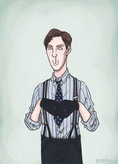 enerjax:  Benedict as Alan Turing doing the thing :B