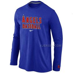 http://www.xjersey.com/los-angeles-angels-long-sleeve-t-shirt-blue.html Only$30.00 LOS ANGELES ANGELS LONG SLEEVE T SHIRT BLUE #Free #Shipping!