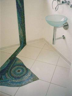 Glas Statt Fliesen Bathroom Pinterest Fliesen Bodenbelag Und Glas - Badezimmer glaswand statt fliesen