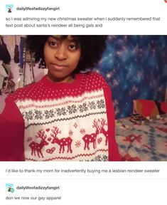 19 Times Tumblr Ruined Christmas And Santa For All Of Us ( not the sweater, that makes it better)