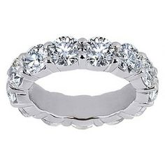 Diamond Eternity Ring (4 ct.tw.) | brilliantearth.com