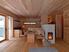 Cabin in Fanes-Sennes-Braies, Italy by EM2 Architects