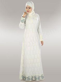 Buy Beautiful Nasiha Abaya | MyBatua | http://www.mybatua.com/womens/abaya