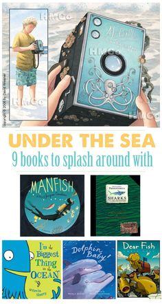 9 fun under-the-sea kid books