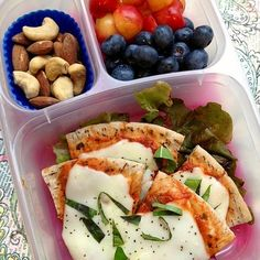 Pita Pizza Bento - Healthy Lunch Ideas: Bento Box Meals We're Craving | Shape Magazine