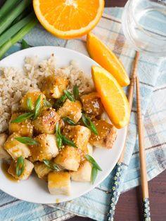Crispy Orange Ginger Tofu: Connoisseurus Veg