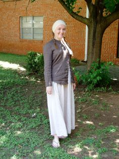 modest Christian clothing. And people say rude things about Muslim choices. ???