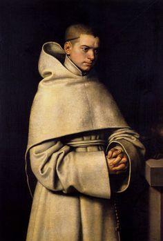 A Monk, c.1556 by Sofonisba Anguissola (1532 – 1625) Italian Renaissance female painter