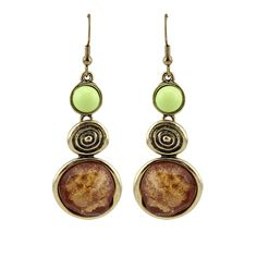 Cheap jewelry casual, Buy Quality jewelry sticker directly from China jewelry animal Suppliers: Fashion Vintage Copper Magic Laser Resin  Charms Pendant Gold Statement Drop Earrings for Women  Jewelry