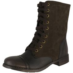 Wanted Shoes Women's Forge Bootie Brown 8.5 ($80) ❤ liked on Polyvore featuring shoes, boots, ankle booties, brown bootie boots, ankle bootie boots, ballerina pumps, brown booties and short boots