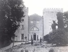 CASTLEDALY HOUSE Lpughrea o Galway. This property was in the possession of the Blake family from the late 16th century and was known as Corbally. In 1786 Wilson refers to the house as the seat of Mr. Blake. When Peter Daly acquired it in 1829 he had the castle remodelled and a facade added. The property then became known as Castledaly. It was also the seat of James Daly in 1894. It is now a ruin.