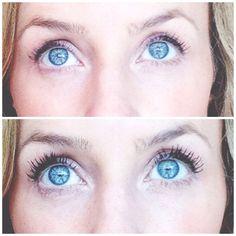 Beautiful long lasting fuller eyelashes ! With younique mascara !