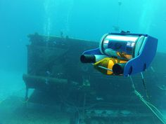 OpenROV - OpenROV is an open-source underwater robot for exploration and education. We want to provide kits for the DIY community