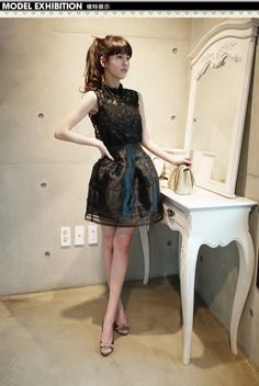 Free shipping 2014 Fashion vintage Elegant Sexy girls Dresses one piece dress lace bust organza set casual dress-inDresses from Women's Clothing & Accessories on Aliexpress.com | Alibaba Group