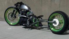 Honda  BAR HOPPER BOBBER chopper Custom BIKE w/ Harley WHEELS