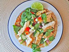 Tequila Lime Tilapia: The flavors of your Mexican vacation are easy to create with this tequila lime tilapia recipe.