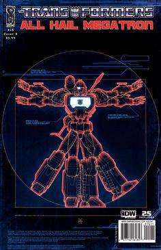 The Transformers: All Hail Megatron #15
