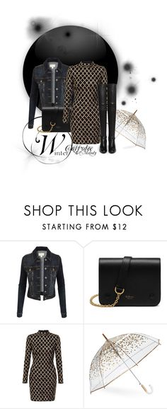 """Le Seizième"" by cassydee ❤ liked on Polyvore featuring LE3NO, Mulberry, ShedRain and Stuart Weitzman"