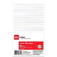 """Office Depot 6-Hole Memo Book 6 3/4"""" x 3 3/4"""" Paper 80 Sheets"""