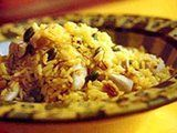 Brocolli Brown Rice Pilaf     i will make this a hundred times over.  the fresh rosemary made all the difference... <3 it