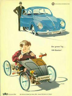VW: Bpys & tg H A  VW: Boys & their toys