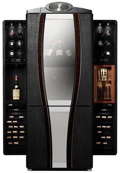 Fancy - Buben & Zorweg Luxury Safe for Watches, Wine and Cigars | The Luxury Bazaar Blog