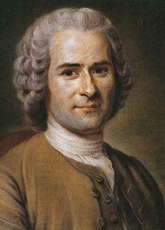 Jean-Jacques Rousseau, 1753, by Maurice Quentin de La Tour