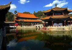 Yuantong Temple is the most famous Buddhist temple in Kunming, Yunnan province, China.