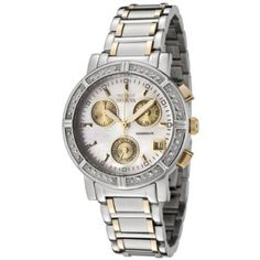 Invicta Women's 4719 II Collection Limited Edition Diamond Two-Tone Watch      $144.99