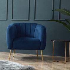 Blue Velvet Accent Chair, Blue Velvet Chairs, Blue Accent Chairs, Accent Chairs For Living Room, Navy Chairs, Windsor Chairs, Coffee Chairs, Coffee Tables, Chair Price