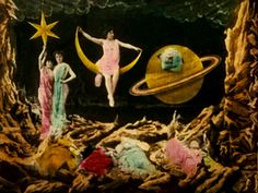 Georges Méliès | A Trip to the Moon / Le Voyage dans la lune | 1902 | color