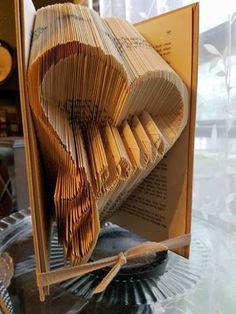 Jesus Heart Pattern Folded Book Art Pattern Book Folding