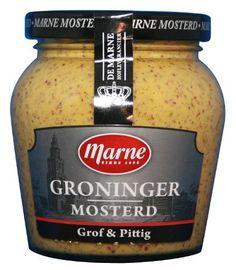 Marne Groninger Mosterd Holland Netherlands, Dutch Recipes, Specialty Foods, Tourism, Dutch Food, Vinegar, Childhood Memories, Yellow, Nice
