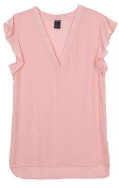 Wavy Sleeves Blouse. Your Favourite Blouse Now in Pink !