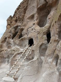 This is so close to me, I need to go see it! Bandelier National Monument, New Mexico.