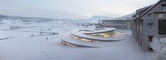 Imagem 1 de 21 da galeria de BIG projeta um museu em espiral para relojoaria Audemars Piguet. © BIG