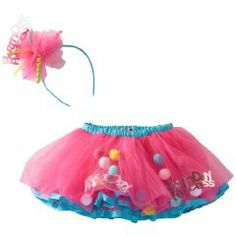 Mud Pie Baby-Girls Infant Birthday Princess Tutu And Headband Set