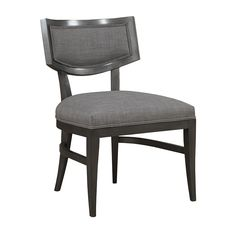**Original choice, but too much $$$ - Hillcrest Wood Framed Dining Side Chair - Duralee Furniture. 23W  x 24D.  $1,110 net price + 2.5 yds fabric per chair.