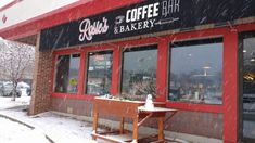 Rosie's Coffee Bar And Bakery Is A Wisconsin Eatery That Serves Cinnamon Rolls The Size Of Your Head Places To Travel, Places To Go, Travel Stuff, Milwaukee Wisconsin, Hiking Wisconsin, Wisconsin Vacation, How To Stop Cravings, Dubai Skyscraper, Modern Buildings