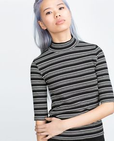 Image 4 of BASIC TOP from Zara