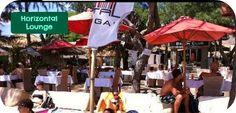 Horizontal Lounge Beach Playa Gilil Trawangan