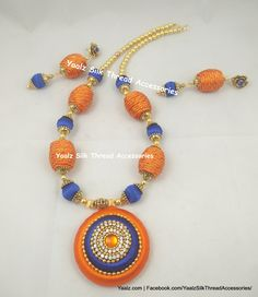 Price For Orders, Whatsapp to 8754032250 We Ship to All Countries Silk Thread Necklace, Thread Jewellery, Beaded Necklace, Fashion Earrings, Countries, Jewelery, Bangles, Indian, Ship