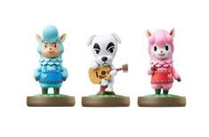 K.K., Resse and Cyrus amiibo - 3-Pack (Animal Crossing Series)
