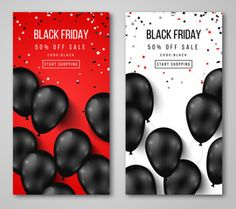 Black Friday Sale Vertical Banners