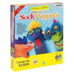Creativity for Little Kids Make Your Own Sock Puppets