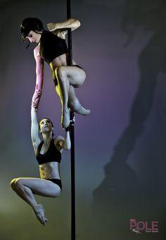 pole dancing doubles tricks - Google Search