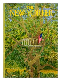 The New Yorker Cover - July 3, 1971 Premium Giclee Print