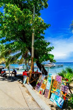How to spend a day relaxing in Roatan, Honduras.